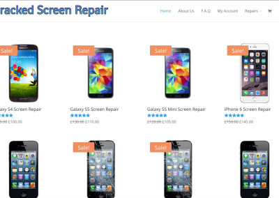 Cracked Screen Repairs